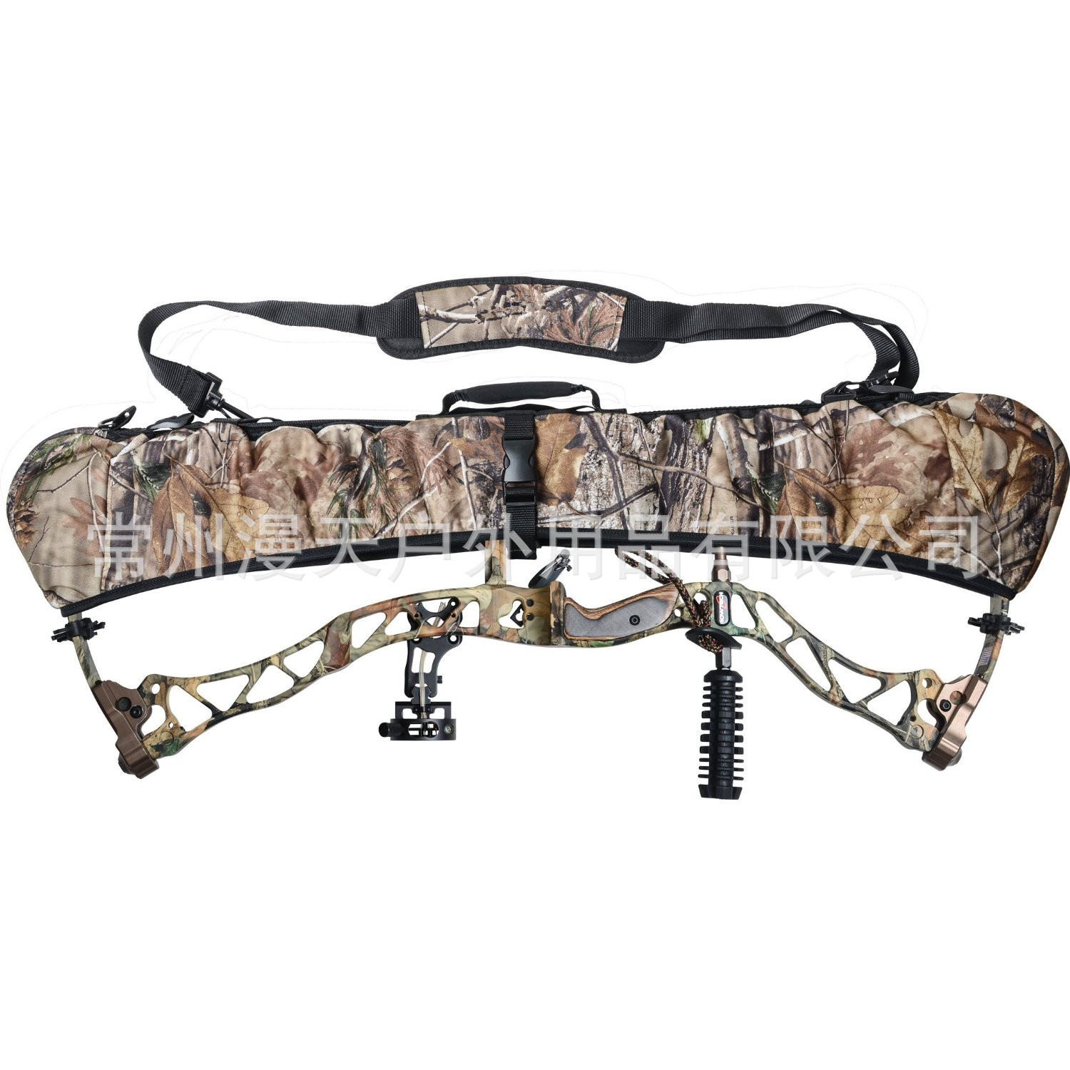 MYDAYS neoprene bow sling carrier Hunting Chasse Archery Bow Bag Case for Hog Deer Turkey Buffalo Hunting Accessories