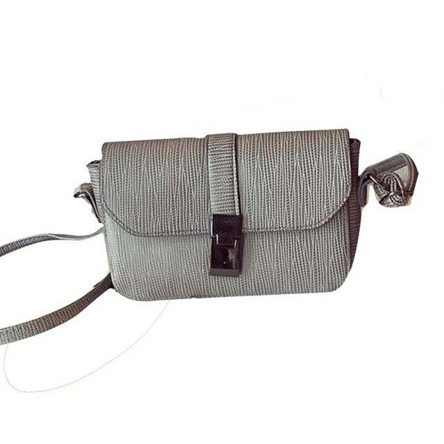 564c5d4ba37d Fashion women s shoulder bag Plug Lock Leather Handbag Cross Body Single  Shoulder Phone Bag bolsos mujer LREW