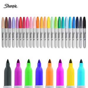 Image 3 - 12/24 Colors/box Oil American Sanford Sharpie Permanent Markers,eco friendly Marker Pen,sharpie Fine Point Permanent Marker