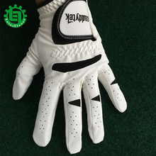 2017 New Arrival White High Quality Breathable Golf Glove Left Hand Super Fine Soft Cloth Size 22#-27# Free Shipping