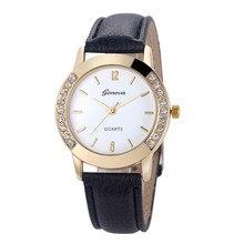 Excellent Quality font b Women b font font b Watches b font Ladies Diamond Leather Quartz