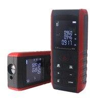Hot 40 100M Laser Distance Meter Digital Electronic Handheld Precision 2mm Rangefinder Tape Measure Portable Area/volume Tool