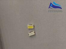 500 قطعة/الوحدة لومينز 7032 مصلحة الارصاد الجوية الجانب إصلاح LED الخرز الباردة الأبيض 1 واط 350mA 9 فولت للتلفزيون/LCD الخلفية لسامسونج
