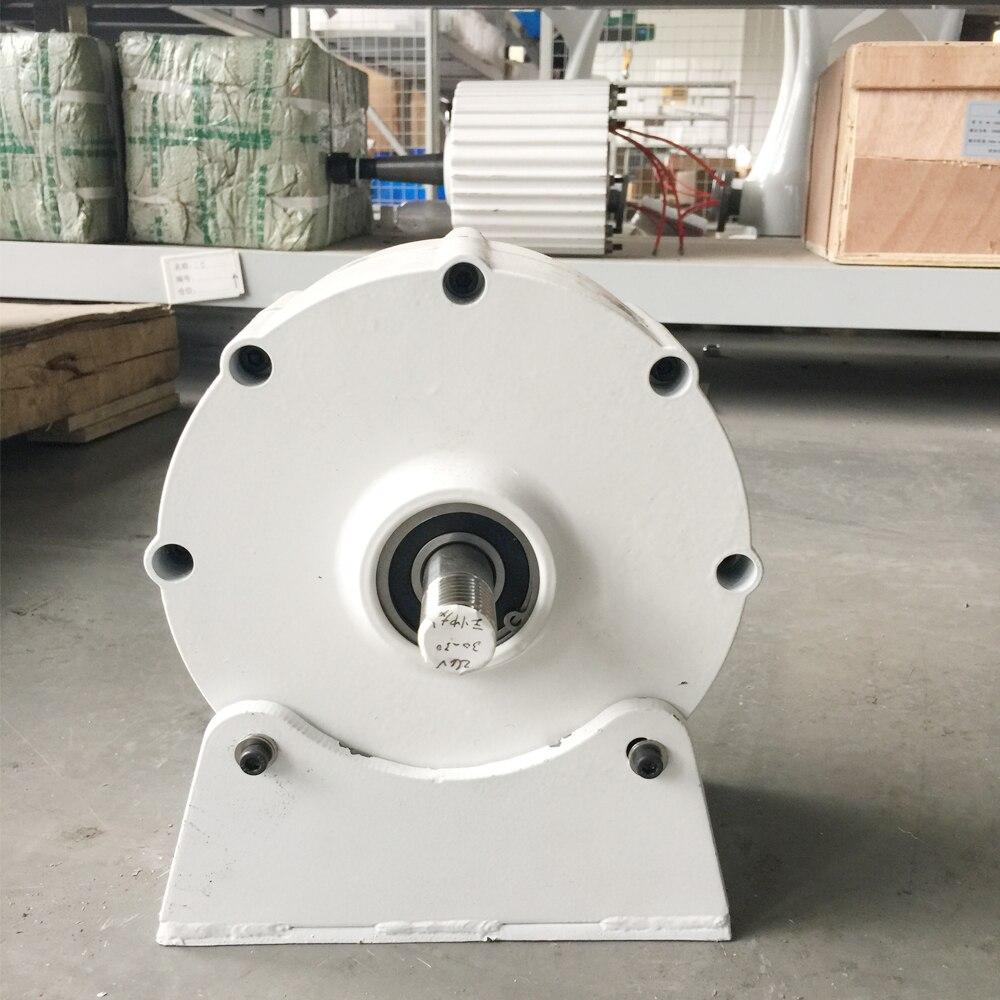 Nouveau 600 w 12 V générateur à aimant permanent faible couple et bas régime alternateur à courant alternatif 3 phases