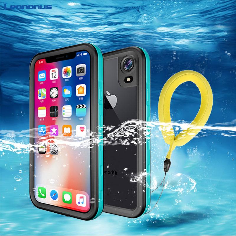 Leanonus спортивный купальник ming Дайвинг чехол для iPhone 7 X XS Max XR чехол водонепроницаемый IP68 Плавание Полный Чехол для iPhone 6 6S 7 8 Plus Capa