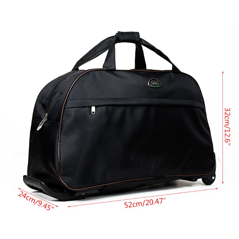 Image 4 - Waterproof Large Capacity Travel Bag 2019 Fashion Casual Thick Style Rolling Suitcase With Wheels Luggage For Women Men StudentsTravel Bags   -