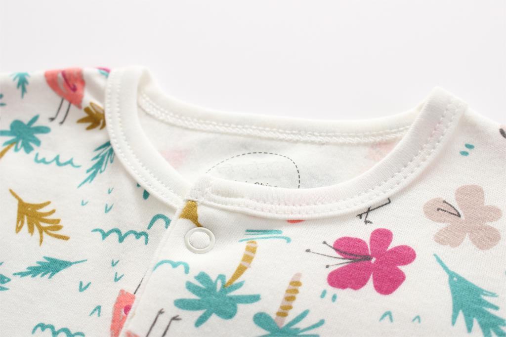 HTB1vuH PkzoK1RjSZFlq6yi4VXaK Baby Girl Romper Newborn Sleepsuit Flower Baby Rompers 2019 Infant Baby Clothes Long Sleeve Newborn Jumpsuits Baby Boy Pajamas