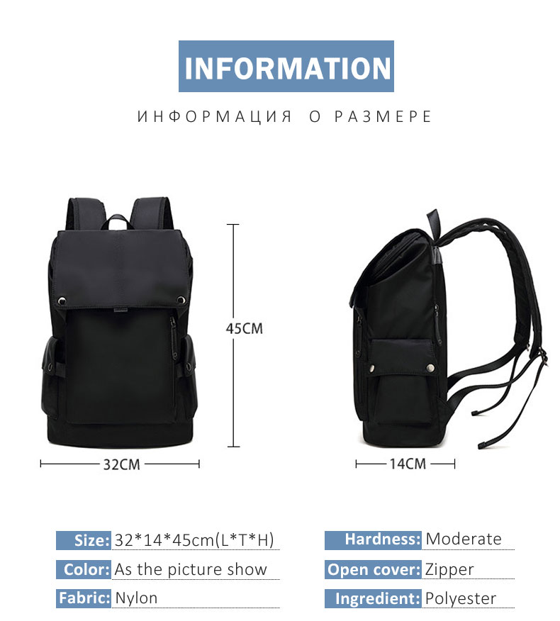 Men Waterproof Backpack HTB1vuI3aEvrK1RjSspcq6zzSXXaw Backpack