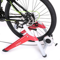 Lixada Road Bike MTB Bicycle Trainer Professional Magnetic Indoor Bicycle Bike Trainer Exercise Stand 6 levels of Resistance
