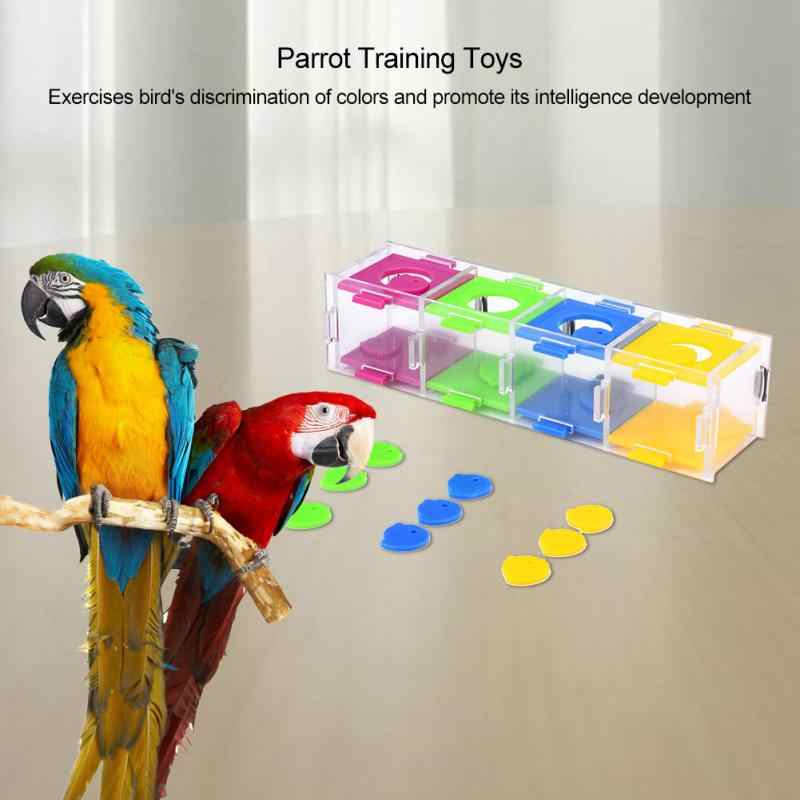 Pet Parrot Toy Bird Plaything Product Puzzle Toy For Budgie Parakeet Cockatiel Educational Intelligence Training Accessories