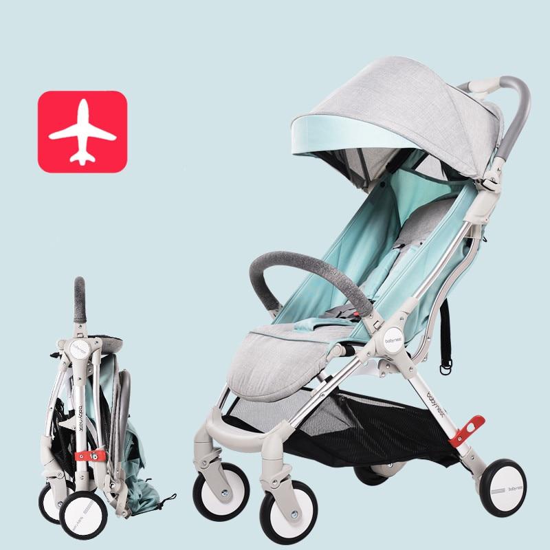 Baby Stroller Plane Lightweight Baby Carriages Portable Travelling Pram Poussette for Newborns Kinderwagens