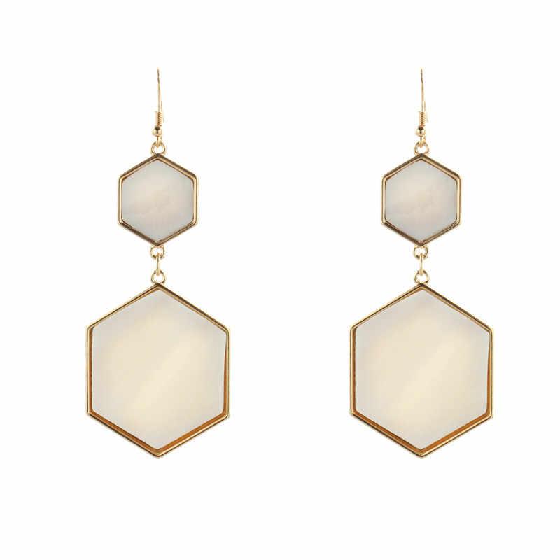 Бесплатная доставка модные женские новые ювелирные изделия геометрический