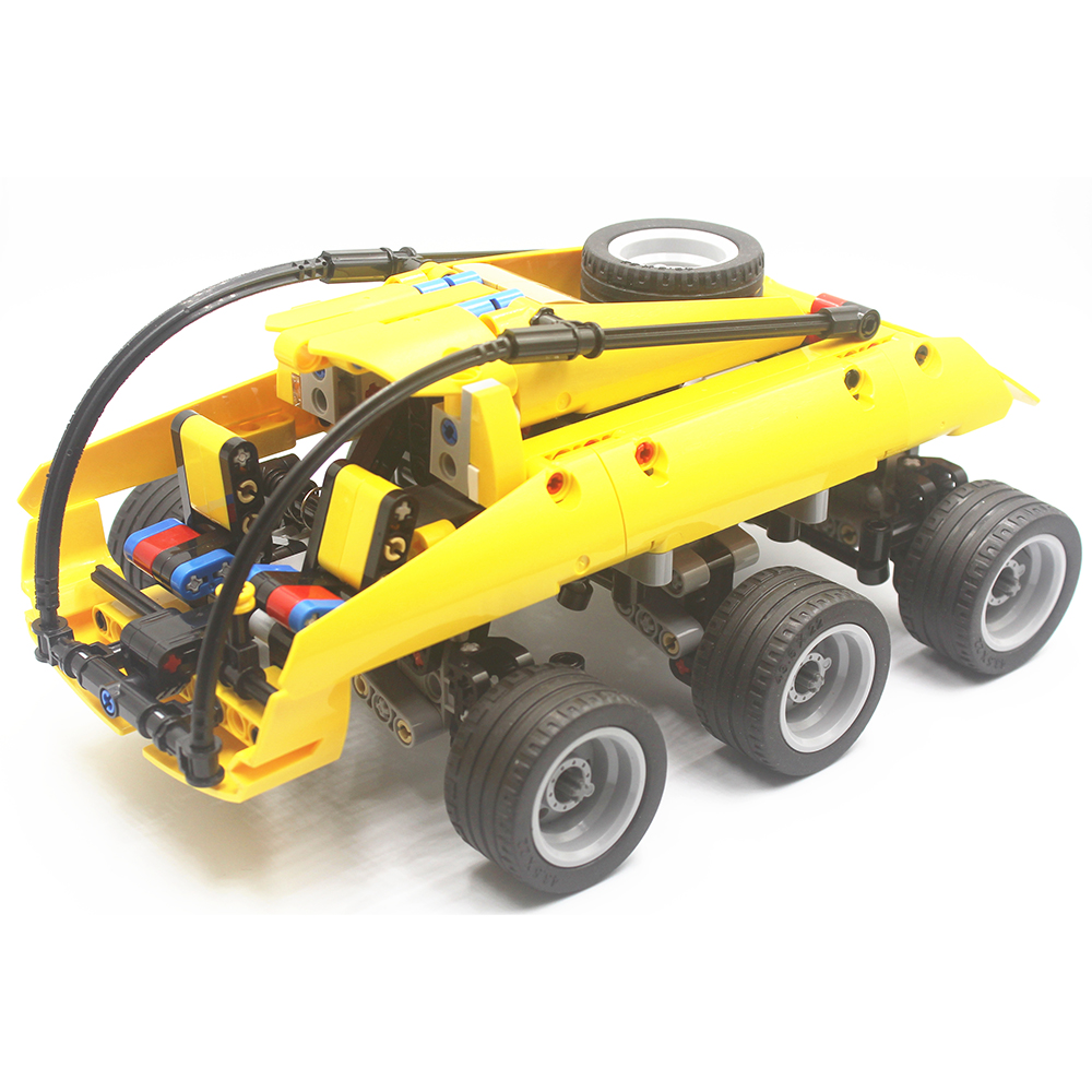 MOC Technic Moon Buggy Building Blocks Bricks Educational Toys Children Gift Christmas Compatible With Lego