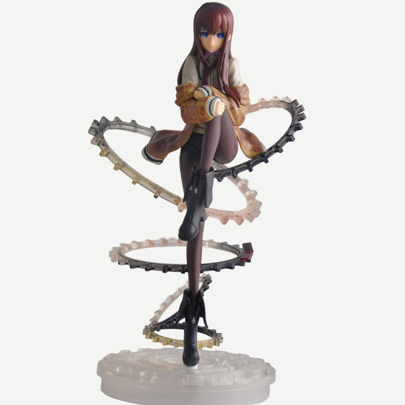 Cool 9 Steins Gate Makise Kurisu PVC Action Figure Model Toy Christmas Gift 1/8 Scale Collectible Anime Cartoon Movie Model Toy 1 6 scale figure doll jurney to the west monkey king with 2 heads 12 action figures doll collectible figure model toy gift