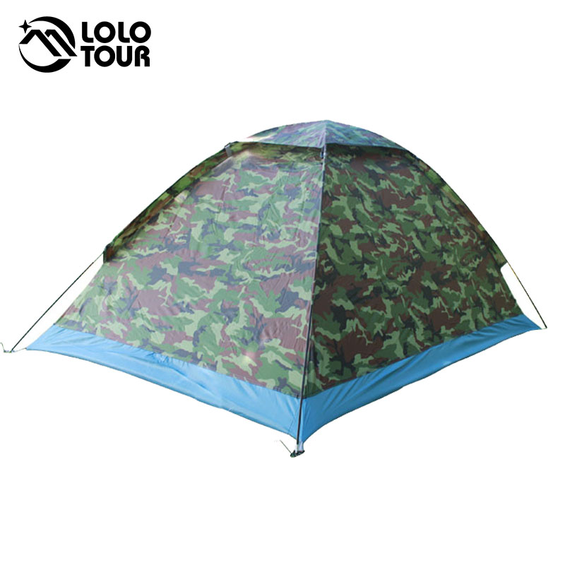 200 * 140 * 110 cm Outdoor Tragbare Single Layer carpas camping Zelt - Camping und Wandern - Foto 6