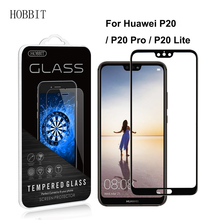 ФОТО  Huawei P20 / P20 Pro Full Coverage 03MM 25D Tempered Glass Screen Protector Anti-Scratch for huawei P20 Lite Colored Film