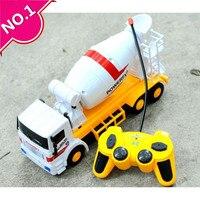 Direksiyon araba, Büyük çimento kamyonu mikser, Elektrik Inşaat araçları oyuncak, 4-channel kablosuz uzaktan kumanda, ücretsiz kargo