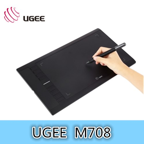UGEE M708 Ultra-thin Draw Digital Graphics Drawing Painting Tablet Pad 10 x 6 inch Active Area 2048 Level Pressure Sensitivity 10 inch ultra thin digital photo frame