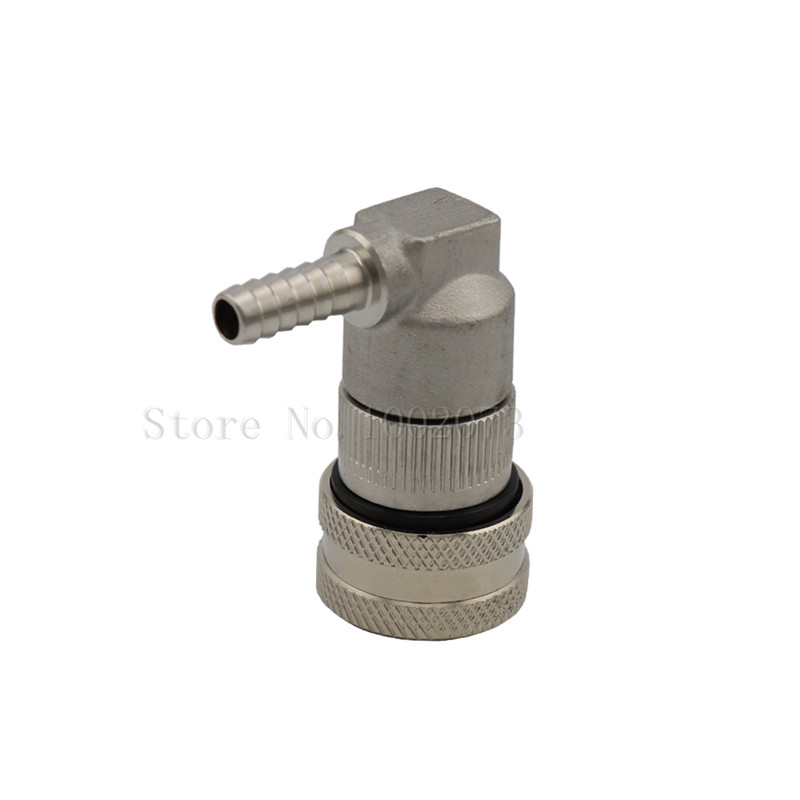 Stainless Steel Ball Lock Keg Connector Fittings, Gas Liquid Quick Disconnect Beer Dispenser Home Brew (5)