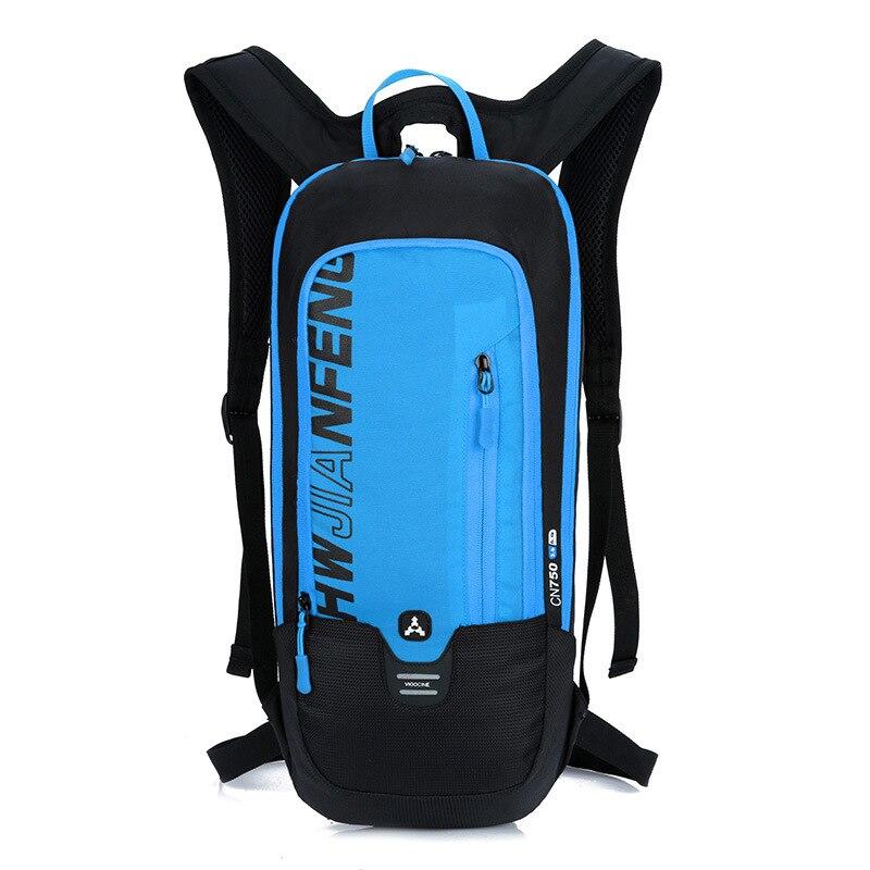 TOPTETN Ultralight Bicycle Backpck Waterproof Nylon MTB Bike Bag Outdoor Sports Durable Cycling Backpack 15L