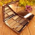 2016 nova moda de diamante moda sombra de olho maquiagem 8 cores diamante partículas maquillage paleta da sombra da sombra de olho