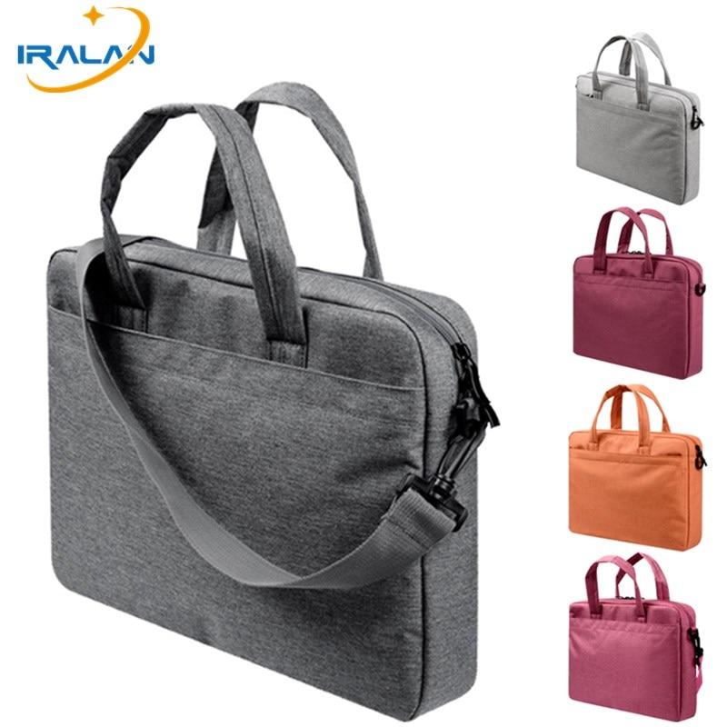 Shoulder Handbag Portable Computer Bag For Mackbook Air 13 Pro 13.3 14 15 15.4 Notebook Case 15.6 Waterproof Women Men Laptop