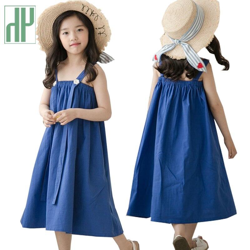 fc8a1dde762a1 Kids Dresses For Girls Sundress Toddler Girls Maxi Dress Long Children  Clothing Summer Beach Princess Teenage Denim Dress - aliexpress.com -  imall.com