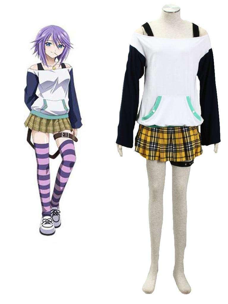 Anime Rosario + Vampire Mizore Shirayuki Cosplay Costume ...
