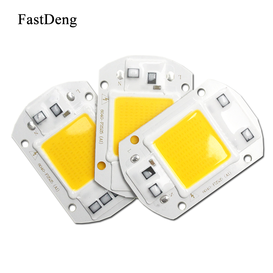 Flood Light Led 50W Smart IC Chip AC 110V 220V COB Light Source High power Supply 30W 20W Integrated Spotlight Bulb             Flood Light Led 50W Smart IC Chip AC 110V 220V COB Light Source High power Supply 30W 20W Integrated Spotlight Bulb