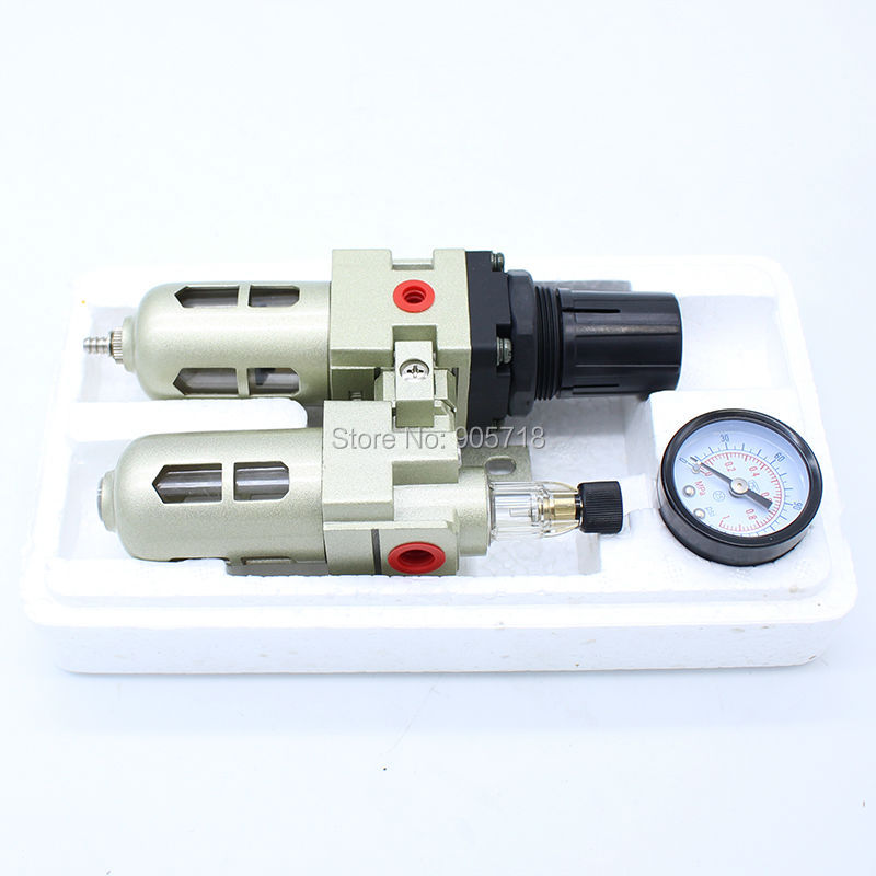High Quality MAC2010 G1/4 or G1/8 Oil Water Separator Air Source Treatment 2 UnitS Pressure Regulating Filter Air Tools Parts come hell or high water