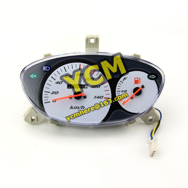 Scooter Instrument  Chinese Scooter Parts Speedometer repair Modify Tachometer YB-XY-bai