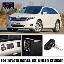 TPMS For TOYOTA Venza ist Urban Cruiser Wireless Tire Pressure Monitoring System Of Internal Sensors Embedded