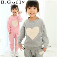 Fashion Boy Toddler Baby Sport Suit Set Girl Clothing Coat Hooded Tops Coats Outwear Jackets Children Kids Tracksuit