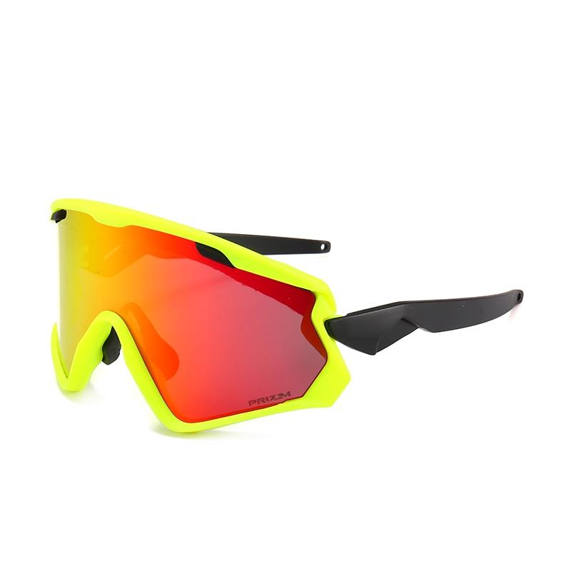Nuevo Gafas de ciclismo de 3 lentes UV400 bicicleta ciclismo Gafas de sol hombres/mujeres deporte bicicleta de carretera ciclismo Gafas, Gafas de ciclismo