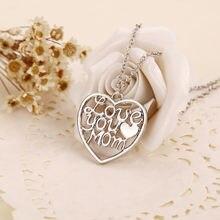 Цепочка с подвеской в виде букв на удачу надписью «love heart