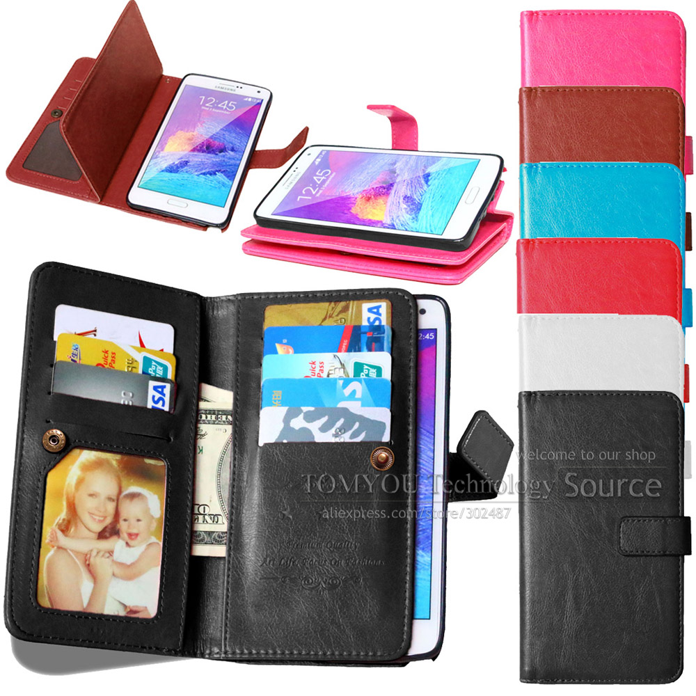 2015 Real Limited No Case For Samsung Galaxy J5 J500 Pu Wallet Card Holder Photo Frame