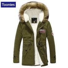 Parka Men Down Coats Winter Jacket Men Slim Thicken Fur Hooded Outwear Warm Coat Top Brand Clothing Casual Mens Coat Veste Homme