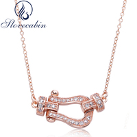 Slovecabin 3 Style Authentic 925 Sterling Silver Pendant Necklace For Women Top Quality Silver Chain Necklace