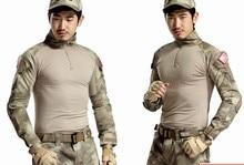ฟินิกซ์3คอมมานโดการฝึกอบรมเครื่องแบบสนามกบแน่นเสื้อผ้าเสื้อยืดยุทธวิธีCPยุทธวิธีแจ็คเก็ตกับแผ่น5สี