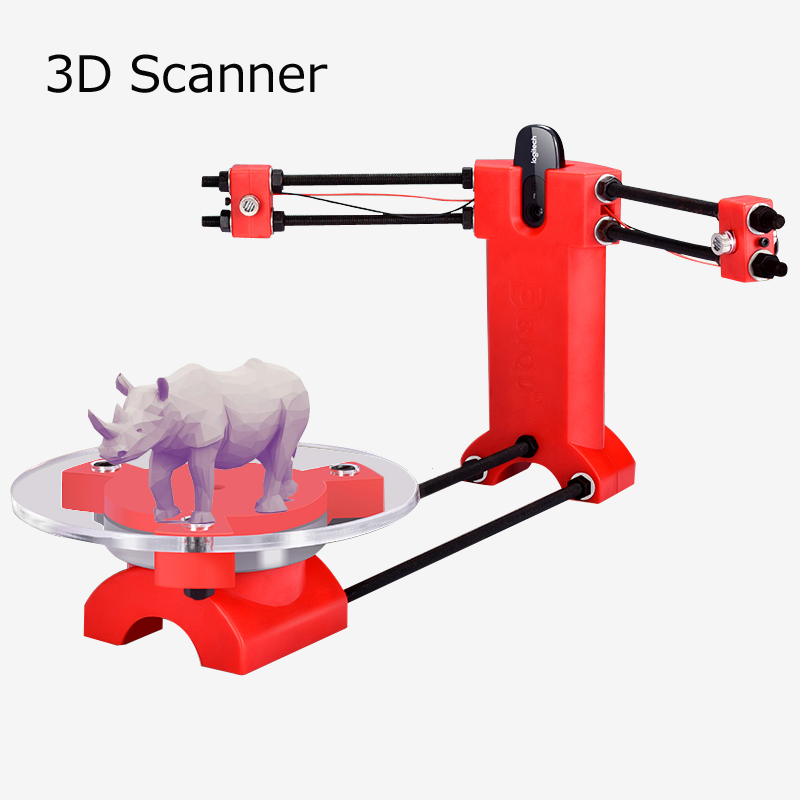 DIY mini 3d scanner kit, designer und DIY grund ingenieur scanner set diy 3d Scannen