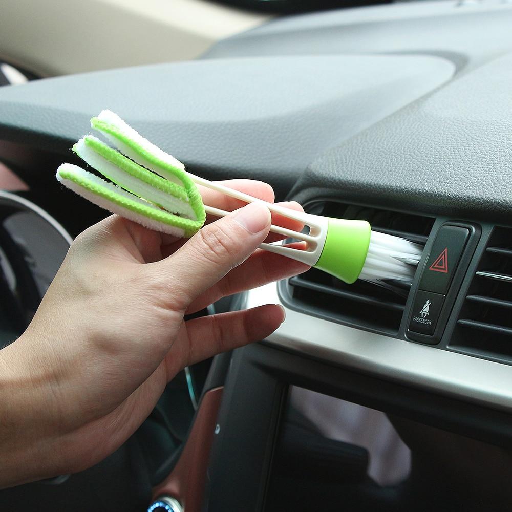Beschouwend Car Care Borstel Stof Gereedschap Auto Cleaning Accessoires Voor Peugeot Rcz 206 307 406 407 207 208 308 508 2008 3008 4008 6008 301 408