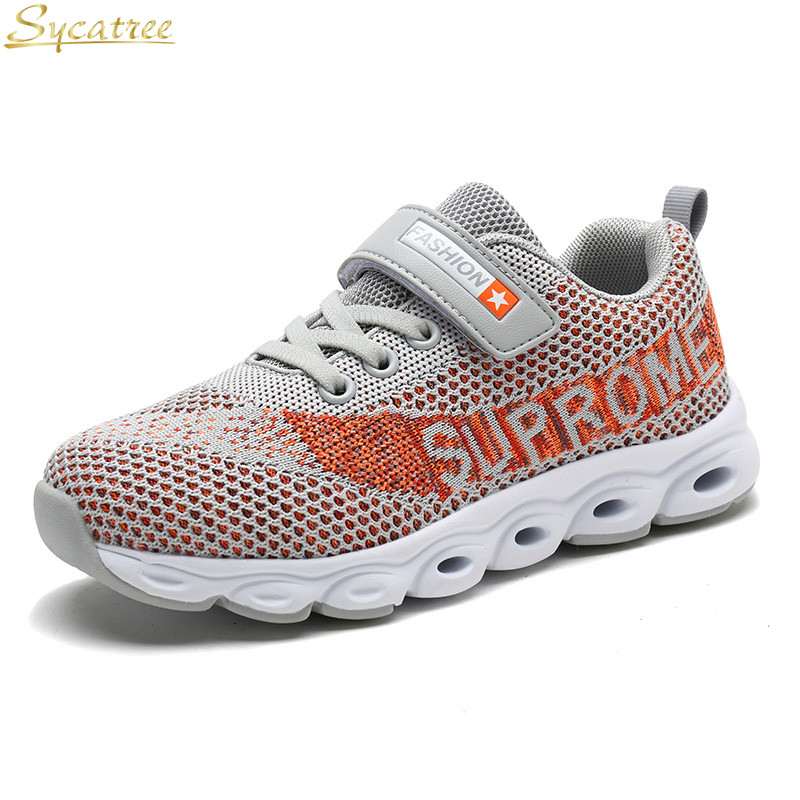 Girls Lights & Lighting Sycatree 2019 Summer Kids Children Sock Shoes Boys Girls Casual Sport Sneakers Flyknit Soft Breathable Baby Sneakers Loafers Delicious In Taste