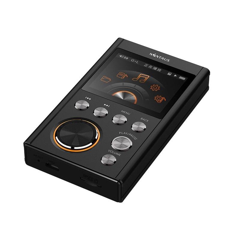 AK NiNTAUS X10 MP3 jugador versión mejorada DSD64 de música de alta fidelidad de alta calidad Mini deportes DAC WM8965 CPU 16 GB - 2