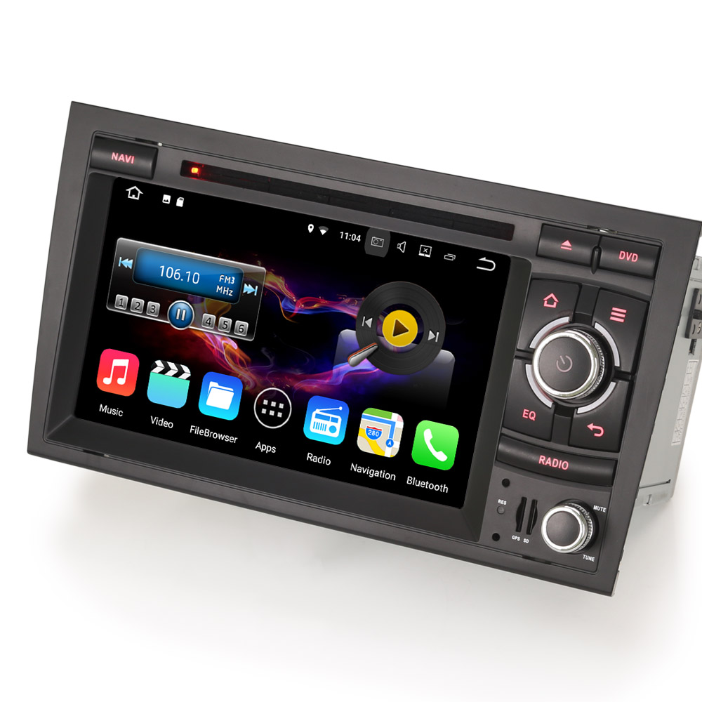 erisin es4728a 7 android 7 1 2 car gps bluetooth wifi. Black Bedroom Furniture Sets. Home Design Ideas