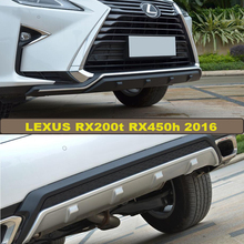 For LEXUS RX200t RX450h 2016 Bumper Protector Guard Skid Plate High Quality Brand New ABS Front+Rear Bumpers Car Accessories
