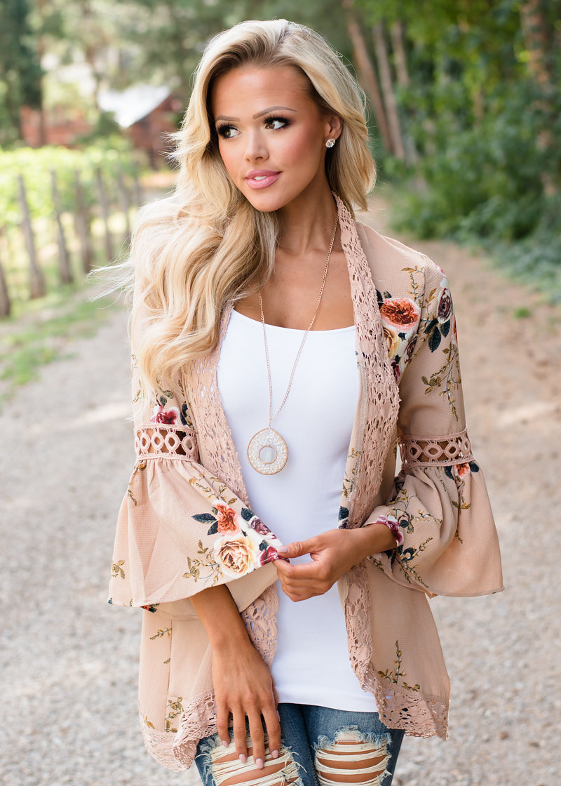 HTB1vuORv XYBeNkHFrdq6AiuVXa3 Women Plus Size Loose Casual Basic Jackets Female 2018 Autumn Long Flare Sleeve Floral Print Outwear Coat Open Stitch Clothing