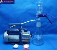 1000ml membrane filter+vacuum pump+filtering membrane,Ultra low cost Vacuum filtration apparatus
