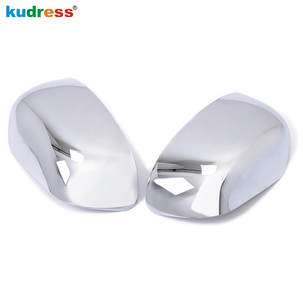 For Mitsubishi ASX RVR Outlander Sport 2007 2008 2009 2010 2011 2012 Chromium Side Rearview Mirror Cover Trims Car-Styling 2pcs 2 pieces car styling door side rearview mirror cover trim abs for subaru forester 2009 2010 2011 2012