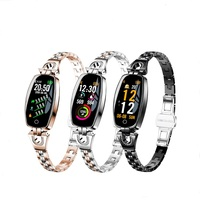 BS Ladies Smart Watch Women 2018 Waterproof Heart Rate Monitoring Bluetooth For Android IOS Fitness Bracelet Smartwatch