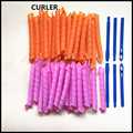 40pcs/lot 55cm Magic Curlers DIY Hair Roller Hair Styling Tools Hair Curlers With Hooks Inner Diameter 2.5cm